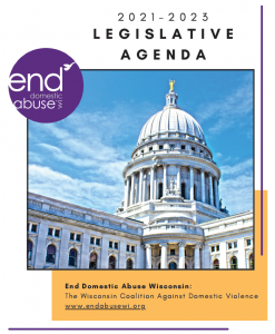 Cover Image of 2021-2023 Legislative Agenda